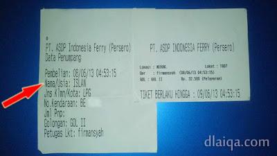 tiket kapal ferry Merak-Bakauheni