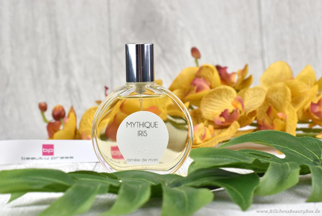 beautypress News Box Juni & Juli 2018 - Aimée de Mars - Mythique Iris Parfum