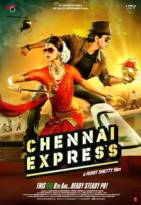 Chennai Express (2013) movie || free download Shahrukh khan and Deepika