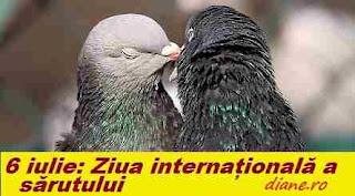 6 iulie: Ziua internațională a sărutului
