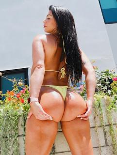Modelo fitness torcedora do Flamengo posa nua e arrasa nas redes sociais