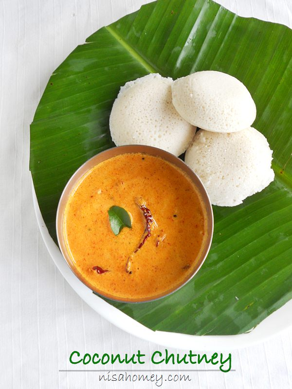 Red Coconut Chutney For Idli And Dosa Kerala Style