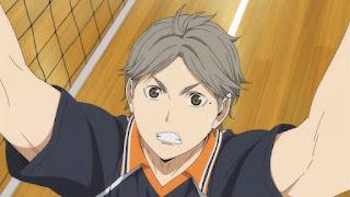 ハイキュー!! アニメ 3期7話 菅原孝支   Karasuno vs Shiratorizawa   HAIKYU!! Season3