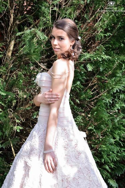 robe de mariée, photo mariage, inspiration mariage rose poudré