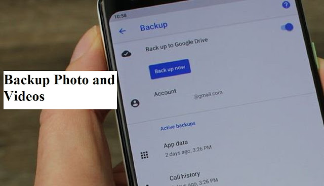 How to Backup Photo and Videos on Google Pixel Phone