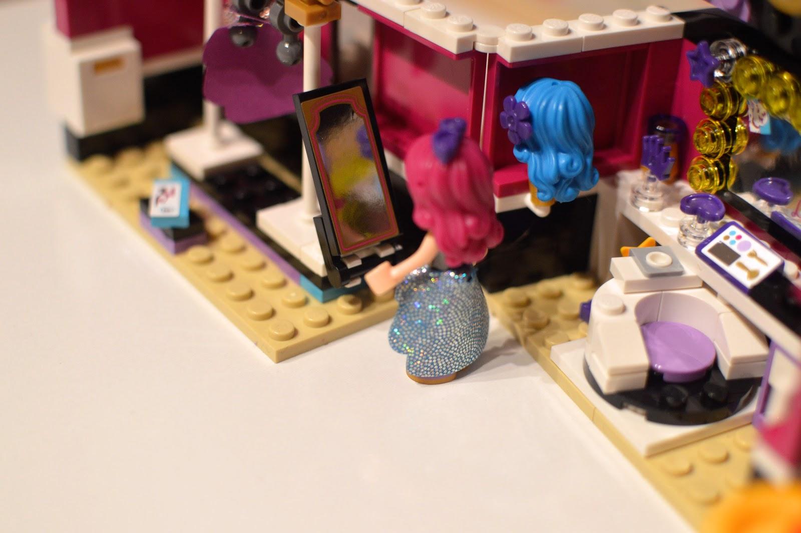 , LEGO Friends Pop Star Dressing Room Review 41104