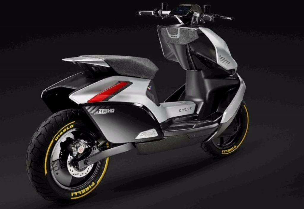 CFMoto Zeeho Electric Scooter look