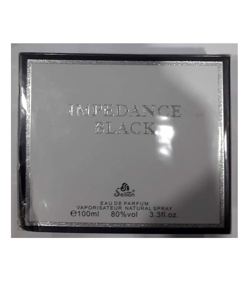 Impedance Black Men Sellion Perfume 100 ML