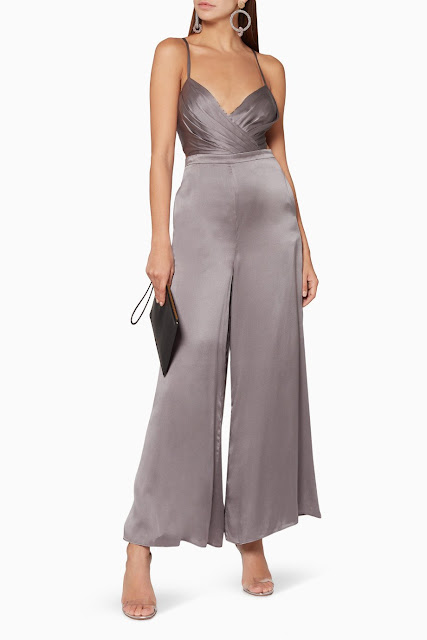 Grey Armella Jumpsuit 1350 AED