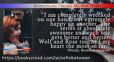 Lack of In-Between by MariaLisa deMora is live!!