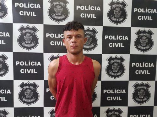 Novo Gama: Suspeito de homicídio é preso
