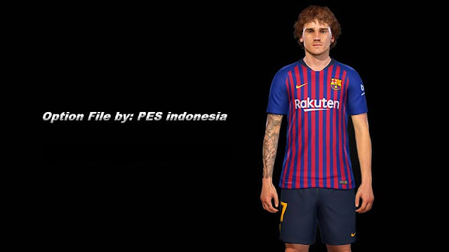 PES 2019 Option File Only For PTE 6 0 by PES Indonesia ~ Game Plus Patch