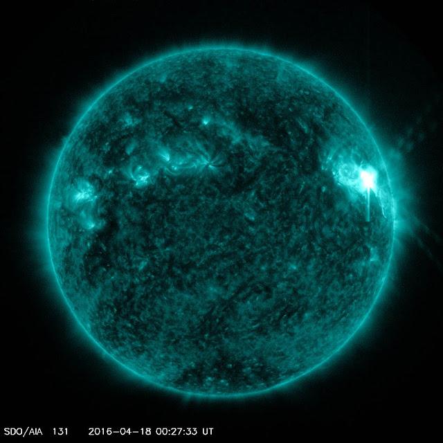 explosão solar da mancha AR 2529
