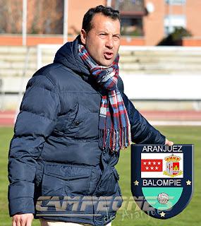 Rafa Pérez Entrenador Aranjuez