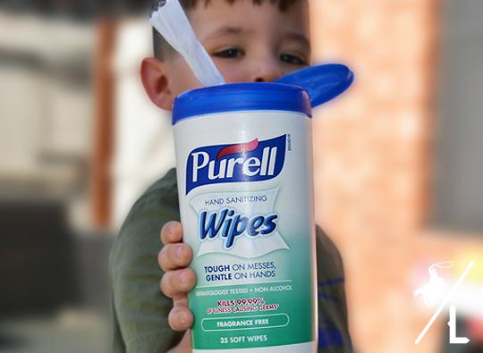 #purellwipes