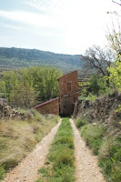 Ruinas junto a la Casa del Batán.