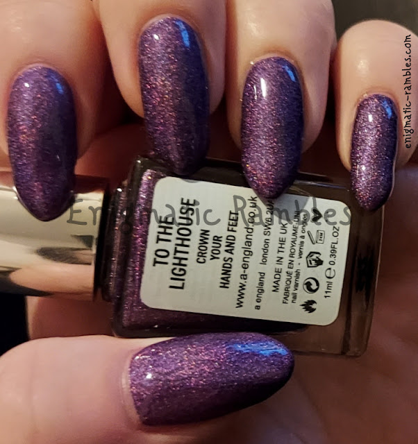 Nail Polish Swatch A England To The Lighthouse Moments with Virginia Collection