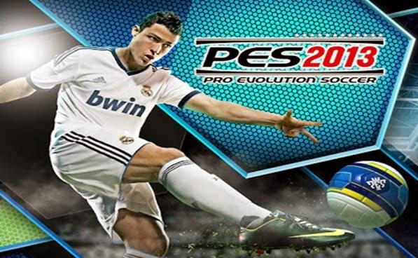 MAIN GAME PES 2013 DENGAN SPESIFIKASI KOMPUTER RENDAH