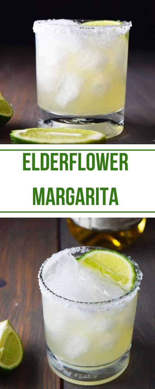 Reposado Elderflower Margarita #healthyrecipes #drink #party #sangria #summer