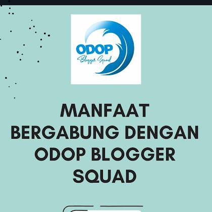 Rugi tidak bergabung dengan odop blogger squad, ini manfaatnya!
