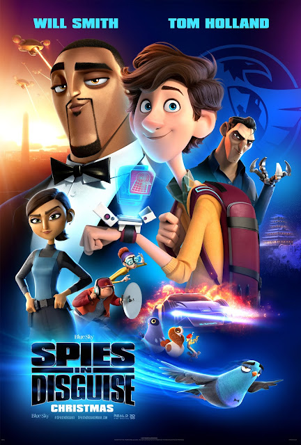 ATLANTA!  Win 4-Pack Advance Screening Tickets to See Spies in Disguise