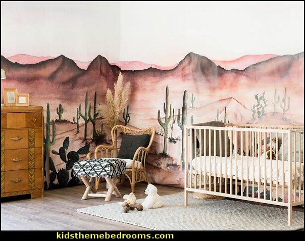 Sedona Wallpaper - Desert Arizona  Mural southwestern wallpaper mural southwestern themed nursery