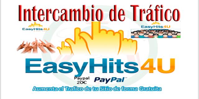 EasyHits4u - El mejor Intercambio de Trafico para posicionar tu Web y Ganar Dinero