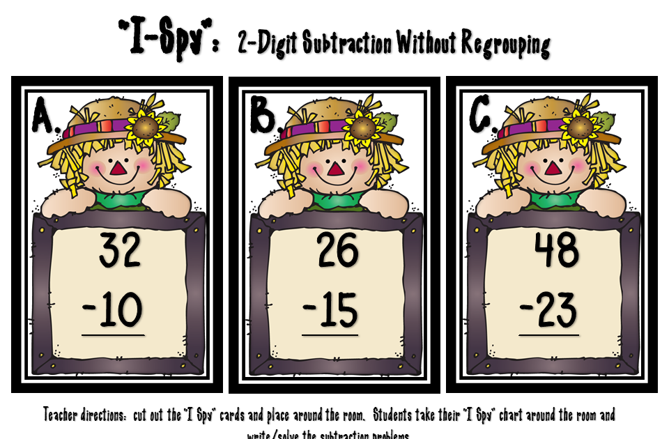 Step Into 2nd Grade With Mrs Lemons 2 Digit Subtraction