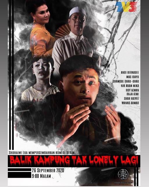 Balik Kampung Tak Lonely Lagi. Lakonan Bersahaja Daripada Andi Bernadee