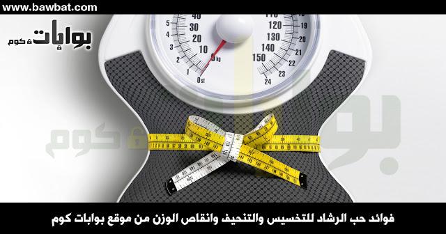 فوائد حب الرشاد للتخسيس والتنحيف وانقاص الوزن