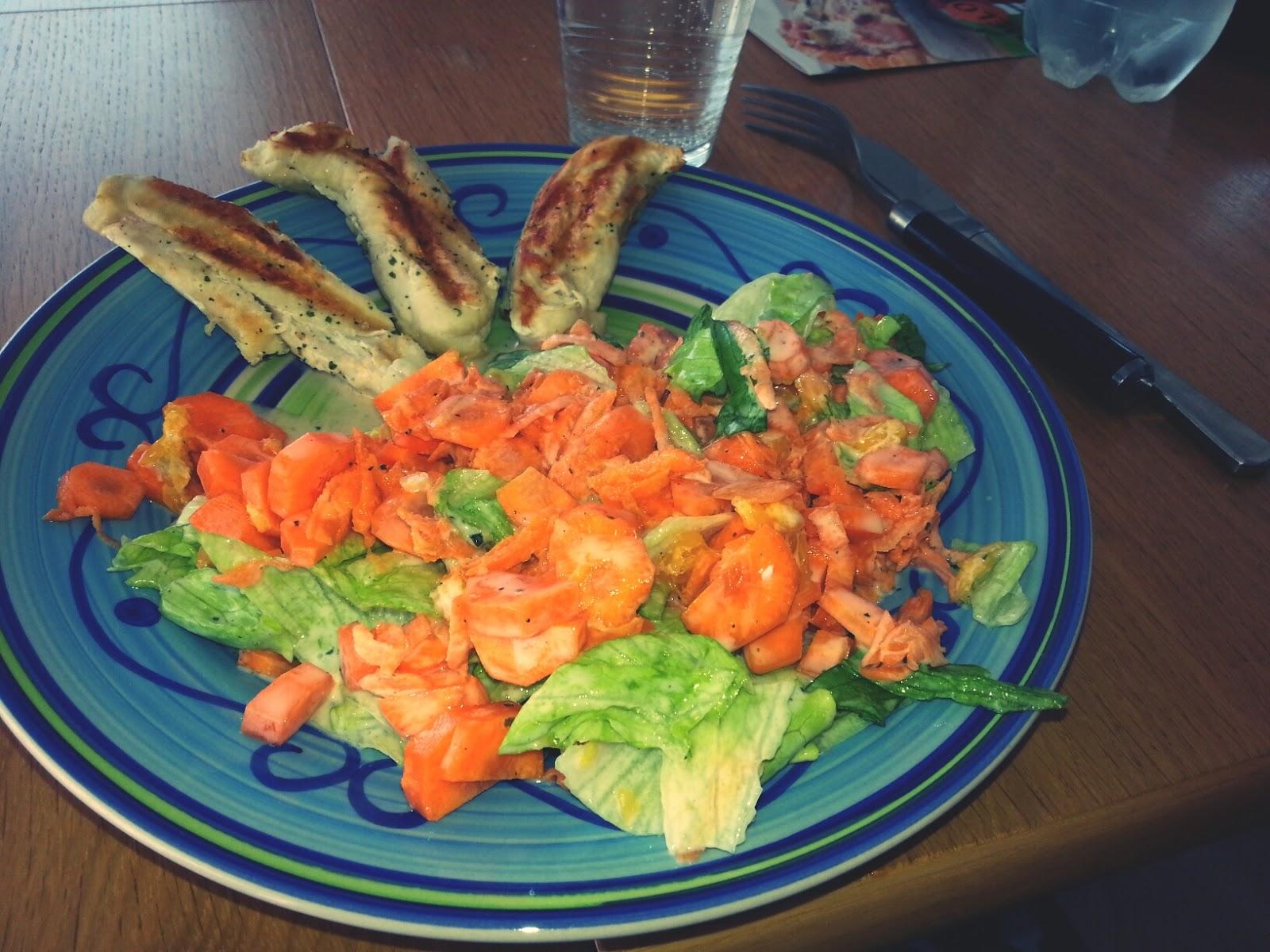 Diät auf Fisch- und Gemüsebasis