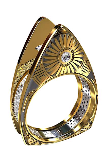 Greg Neeley Christmas Edit Hopi Pottery Ladies Ring #brilliantluxury