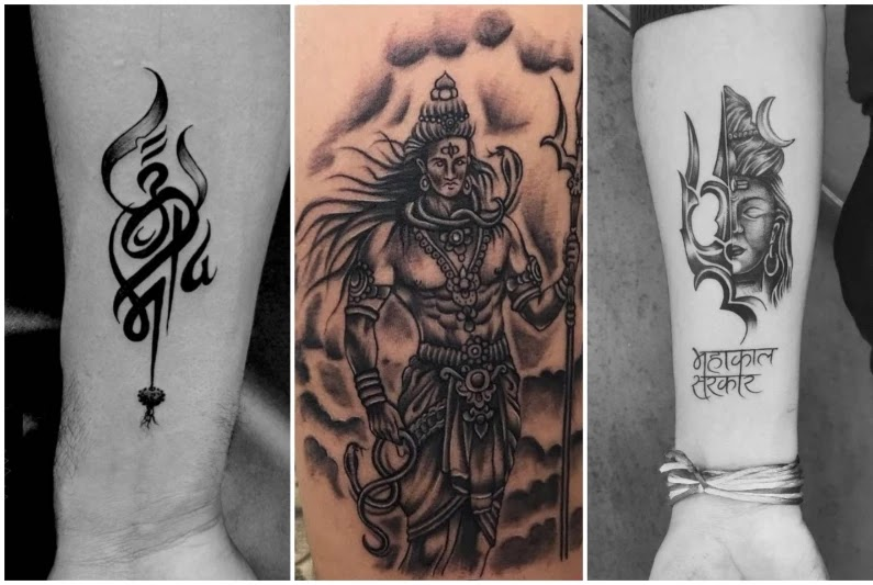 Lord Shiva Hand Tattoo Ideas