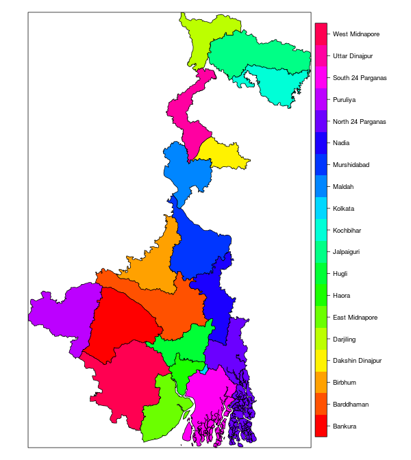 blog@Yantrajaal: Maps of India : DIY with R and GADM data