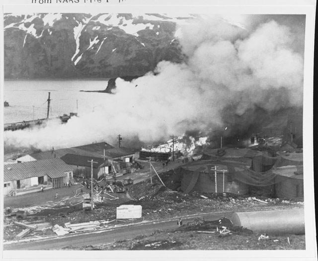 Dutch Harbor fires, 3 June 1942 worldwartwo.filminspector.com