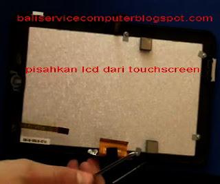 cara ganti lcd touchscreen