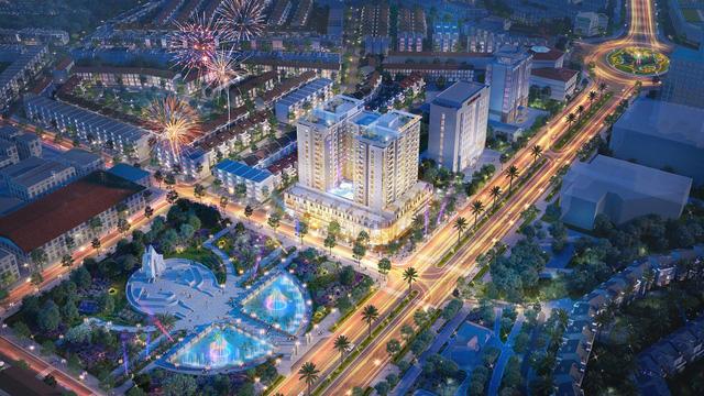 Phối cảnh dự án Lotus Central Bắc Ninh