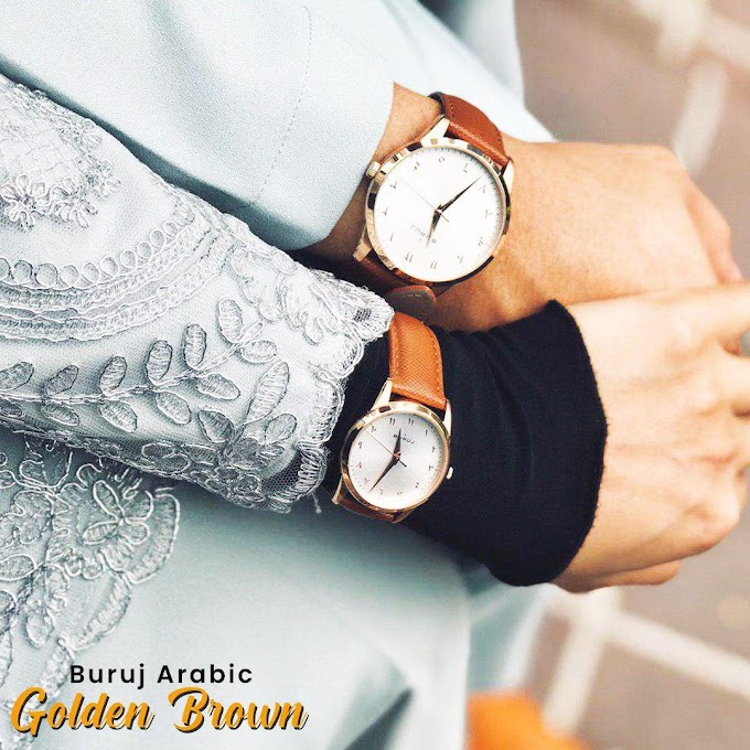 COUPLE Buruj Arabic Classic Golden Brown