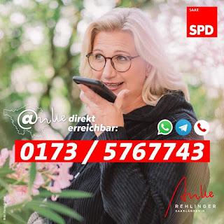 SharePic mit Telefonnummer für Messengerkontakt zu Anke Rehliger - Quelle Facebook