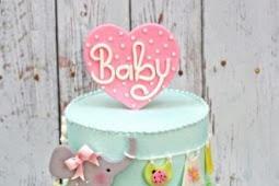 7 idées mignonnes et délicieuses de gâteau de douche de bébé