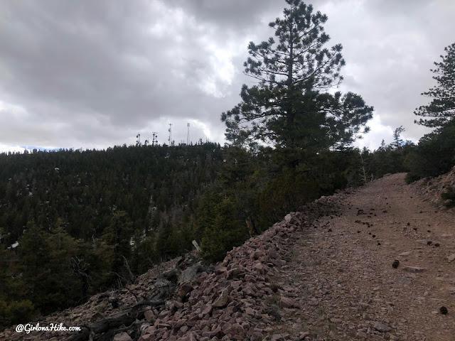 Hiking to Frisco Peak, Utah