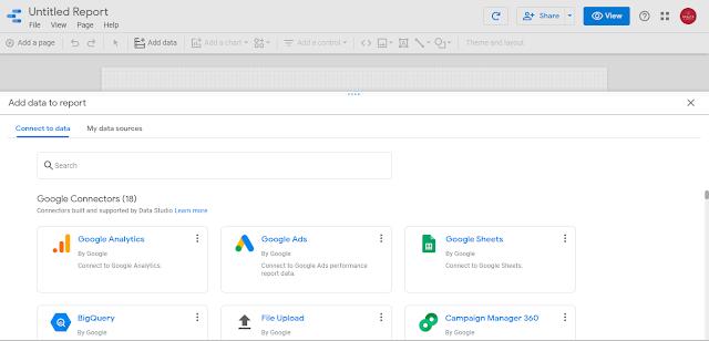 Google Data Studio Blank Project