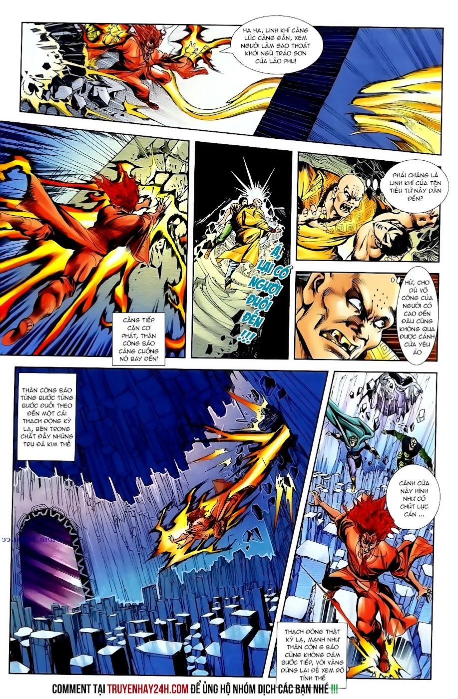 Cơ Phát Khai Chu Bản chapter 99 trang 16
