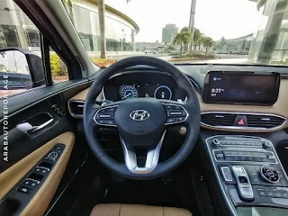 تجربة تفصيلية لسيارة هيونداي سانتافي 2021
