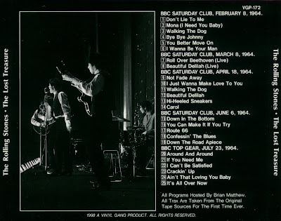 The Rolling Stones -  The Lost Treasure ( Saturday Club & Top Gear... plus -  sessions 1964)
