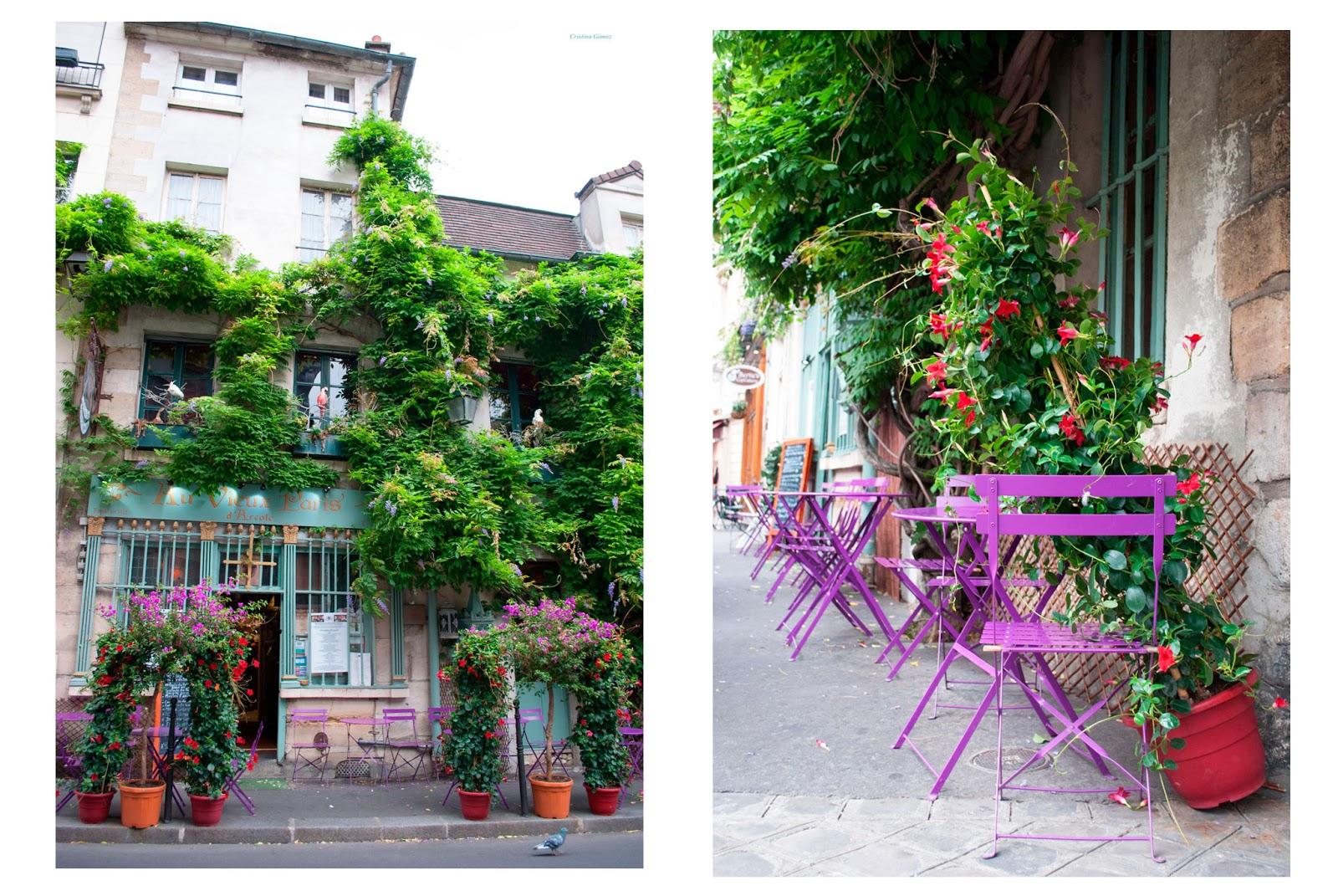 Paris France Au Vieux Paris d'Arcole cafe restaurant