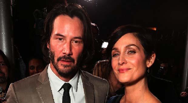 "Keanu Reeves dan Carrie Anne-Moss Bintangi Film ""Matrix 4"""