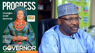 Court Orders INEC To Restore SDP Candidate, Natasha In Kogi Election