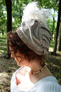 diy regency turban cap bonnet tutorial hat