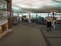 Brunei International Airport departure lounge
